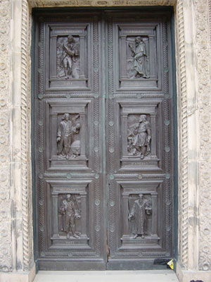 Designed by Godfrey Sykes the principle designer of the South Kensington Museum (now the Vu0026A) the doors were modelled by two of his pupils from Sykesu0027 ... & PAIR OF DOORS AT THE VICTORIA AND ALBERT MUSEUM u2013 rupertharris