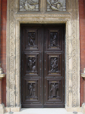 & PAIR OF DOORS AT THE VICTORIA AND ALBERT MUSEUM \u2013 rupertharris